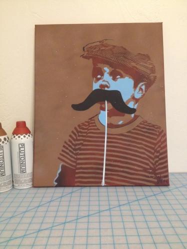 ray mustache