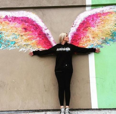 Rhian Wings Hoodie
